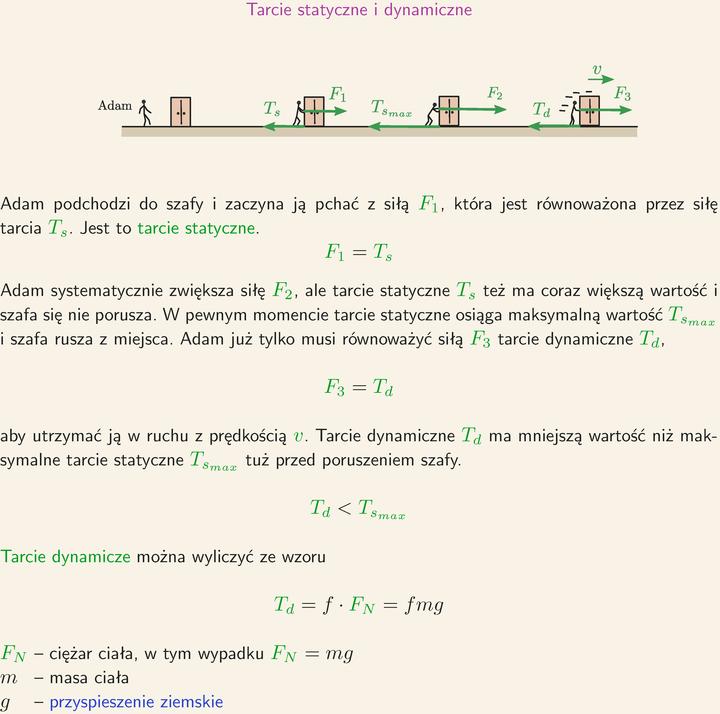Tarcie Statyczne I Dynamiczne